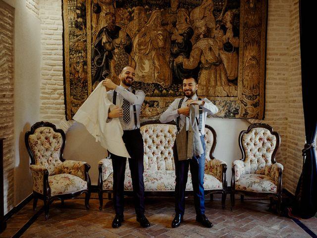 La boda de Jesús y José en Fuentes De Andalucia, Sevilla 19