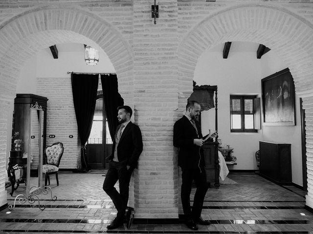 La boda de Jesús y José en Fuentes De Andalucia, Sevilla 23