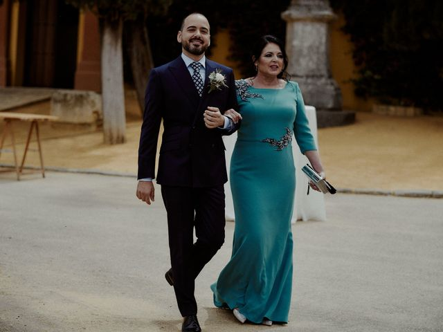 La boda de Jesús y José en Fuentes De Andalucia, Sevilla 36