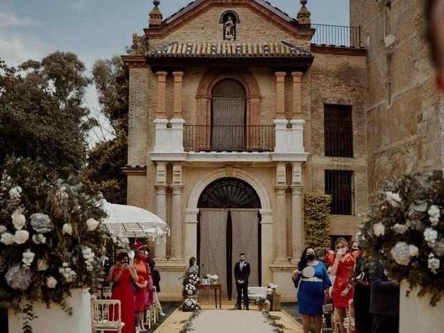 La boda de Jesús y José en Fuentes De Andalucia, Sevilla 40