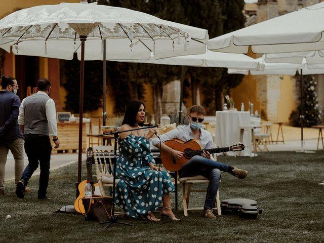 La boda de Jesús y José en Fuentes De Andalucia, Sevilla 42