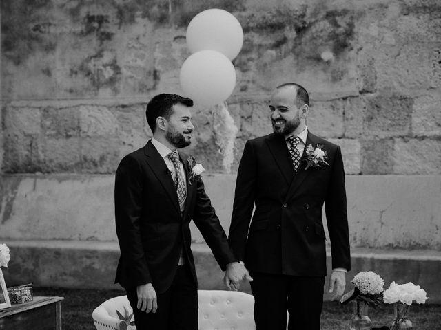 La boda de Jesús y José en Fuentes De Andalucia, Sevilla 46