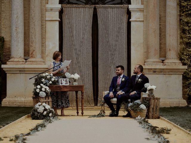 La boda de Jesús y José en Fuentes De Andalucia, Sevilla 48