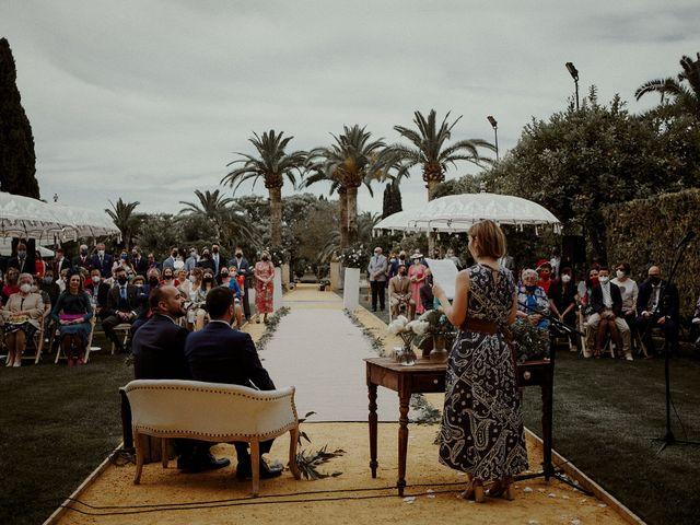 La boda de Jesús y José en Fuentes De Andalucia, Sevilla 49