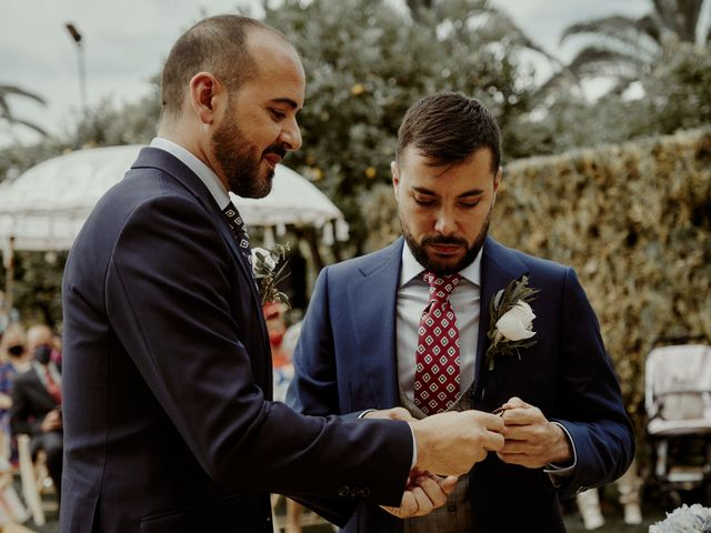 La boda de Jesús y José en Fuentes De Andalucia, Sevilla 50