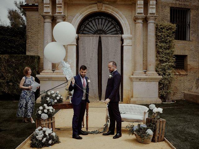 La boda de Jesús y José en Fuentes De Andalucia, Sevilla 53