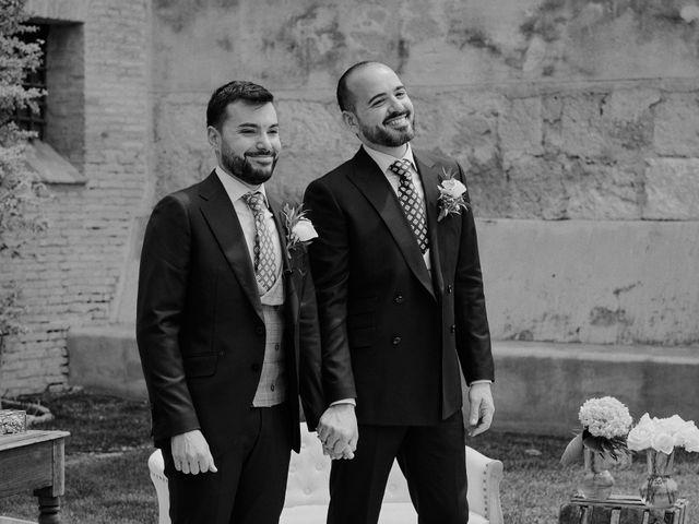 La boda de Jesús y José en Fuentes De Andalucia, Sevilla 57