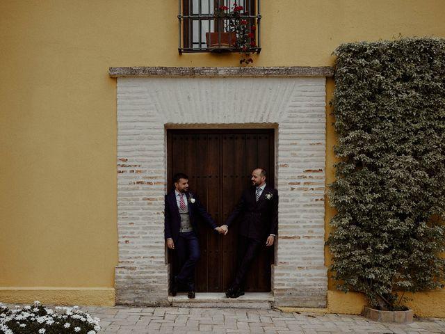 La boda de Jesús y José en Fuentes De Andalucia, Sevilla 68