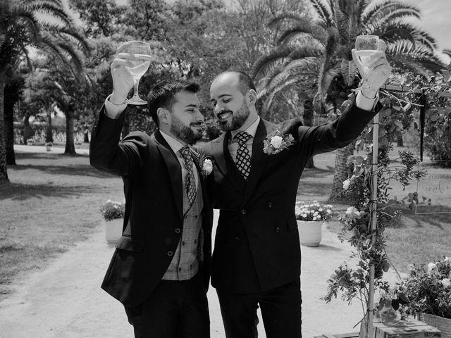 La boda de Jesús y José en Fuentes De Andalucia, Sevilla 70