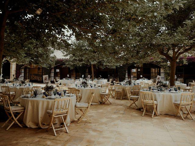 La boda de Jesús y José en Fuentes De Andalucia, Sevilla 81