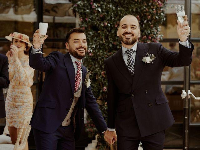 La boda de Jesús y José en Fuentes De Andalucia, Sevilla 83