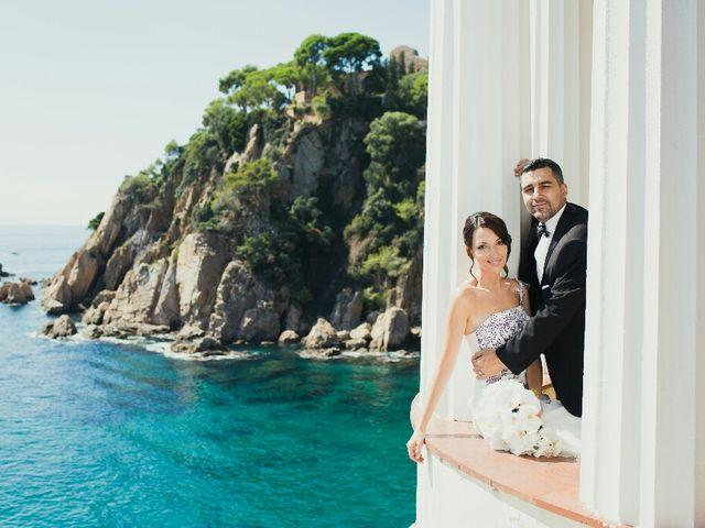 La boda de Ruben y Elisabet en Blanes, Girona 4