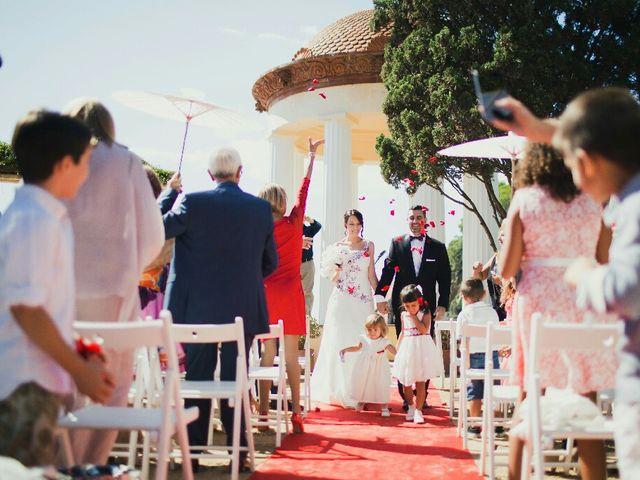 La boda de Ruben y Elisabet en Blanes, Girona 1