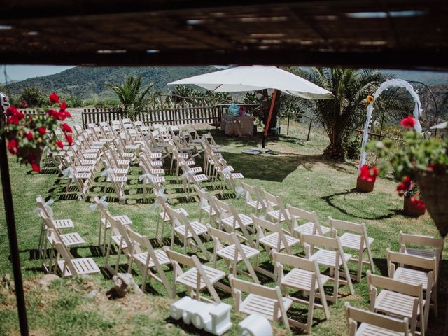 La boda de Carlos y Agri en Pulgarin Alto Y Bajo, Málaga 2
