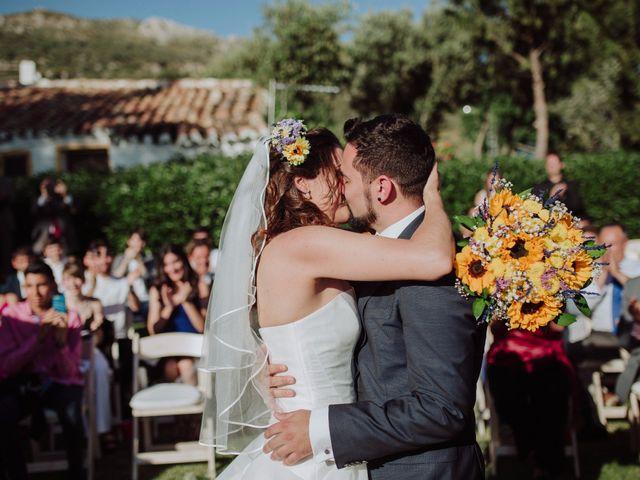 La boda de Carlos y Agri en Pulgarin Alto Y Bajo, Málaga 36