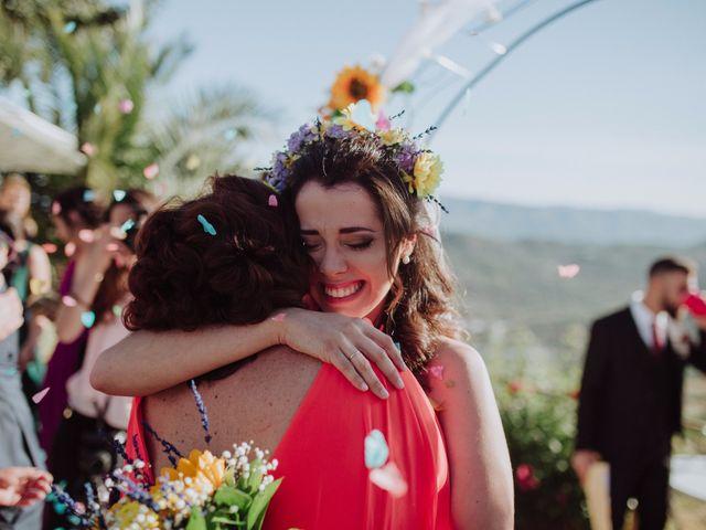 La boda de Carlos y Agri en Pulgarin Alto Y Bajo, Málaga 37
