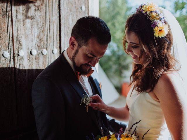 La boda de Carlos y Agri en Pulgarin Alto Y Bajo, Málaga 43