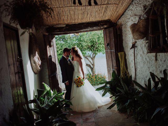 La boda de Carlos y Agri en Pulgarin Alto Y Bajo, Málaga 44