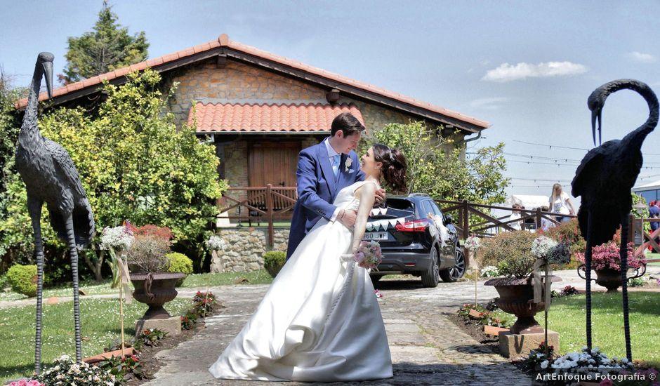 La boda de Julio y Cristina en Suances, Cantabria