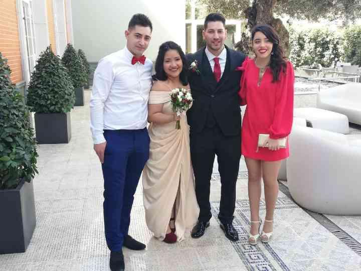 La boda de Ruben y Kerly