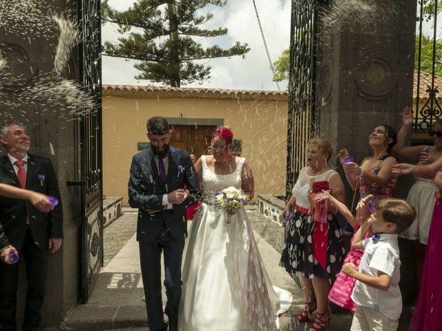 La boda de Juan Alberto y Elisa en Arucas, Las Palmas 1