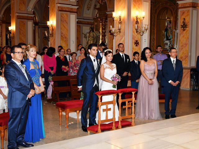 La boda de Clemente y Andrea en Los Ramos, Murcia 17