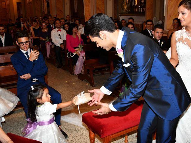 La boda de Clemente y Andrea en Los Ramos, Murcia 19
