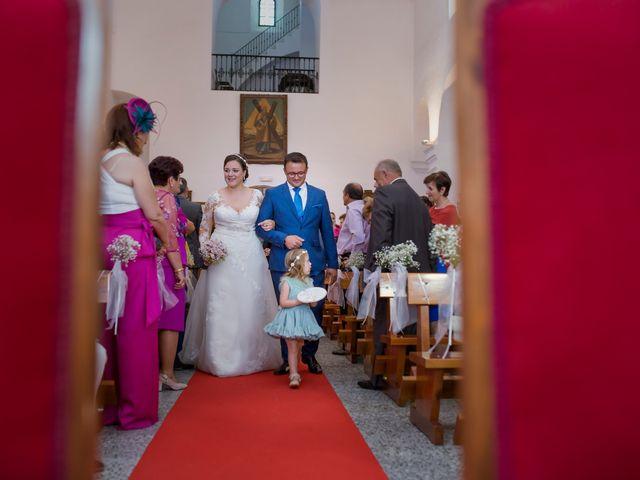 La boda de Julio y Cristina en Solana De Los Barros, Badajoz 13