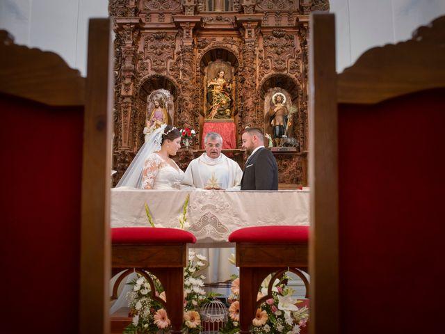 La boda de Julio y Cristina en Solana De Los Barros, Badajoz 16