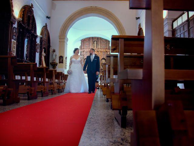 La boda de Julio y Cristina en Solana De Los Barros, Badajoz 19
