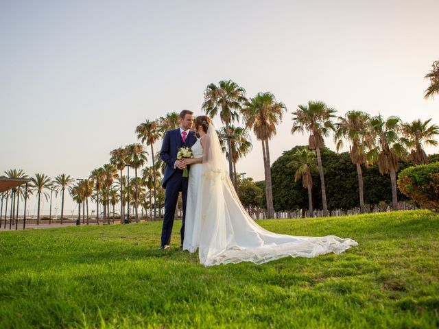 La boda de Jose y Ioana en Roquetas De Mar, Almería 1