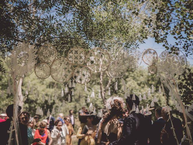 La boda de Enrique y Candela en Jimera De Libar, Málaga 77