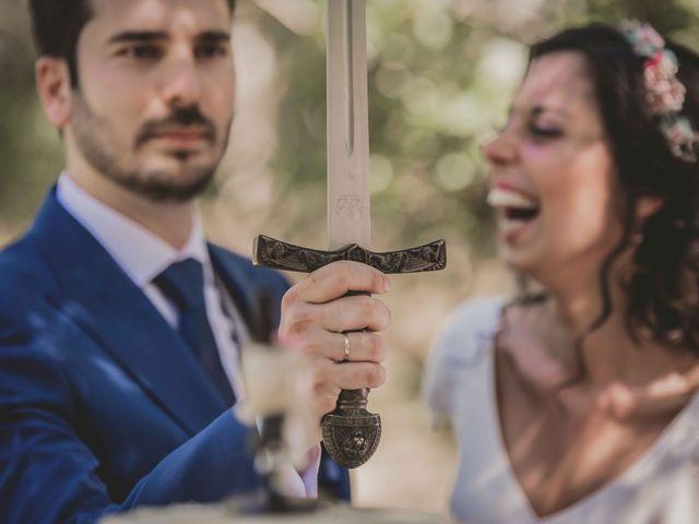 La boda de Enrique y Candela en Jimera De Libar, Málaga 98
