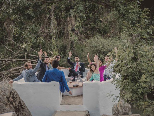 La boda de Enrique y Candela en Jimera De Libar, Málaga 125