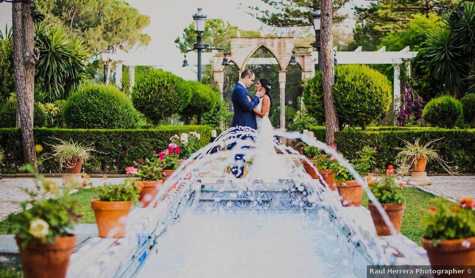 La boda de Javier y Karina en Sanlucar La Mayor, Sevilla