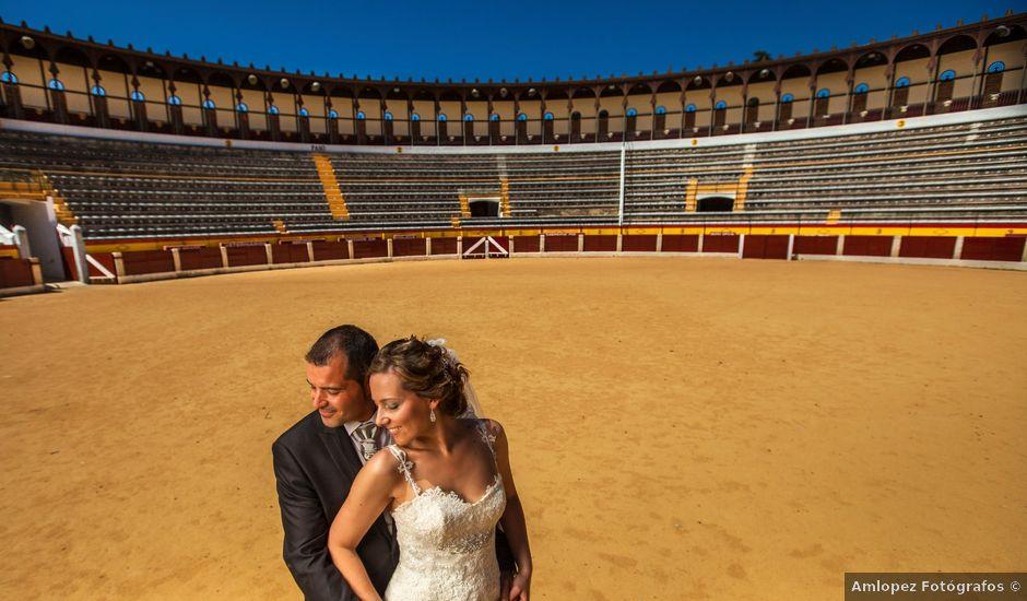 La boda de Fran y Lucía en Aceuchal, Badajoz