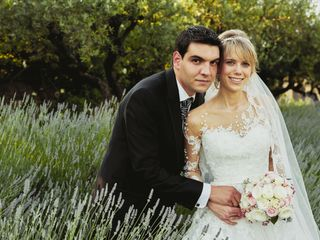 La boda de Larissa y David