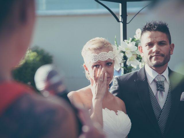 La boda de Tanya y Dino