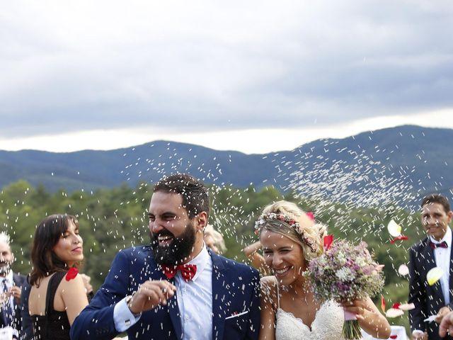 La boda de Sandra y Marcos en Besalu, Girona 1