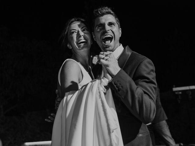 La boda de M. Ángeles y Román