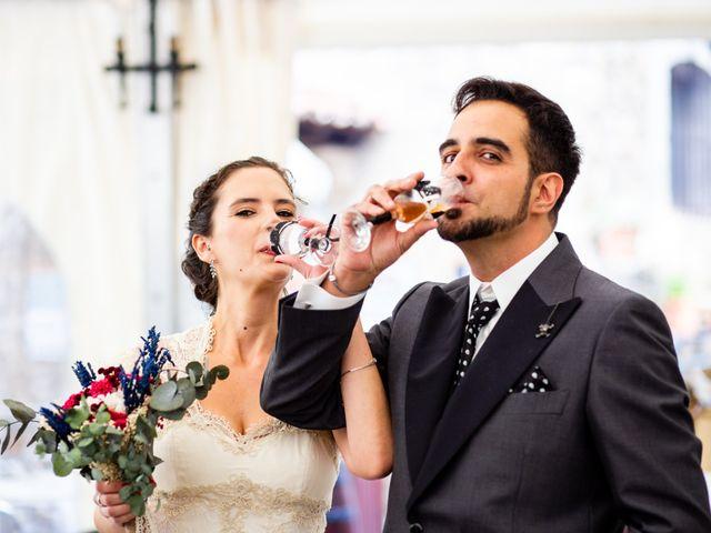 La boda de Hector y Visi en Jaraiz De La Vera, Cáceres 19