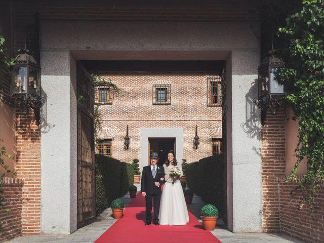 La boda de Angel y Cristina en Boadilla Del Monte, Madrid 10