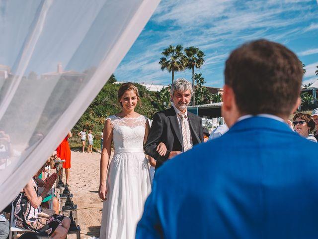 La boda de Nicolás y Marie en Conil De La Frontera, Cádiz 37