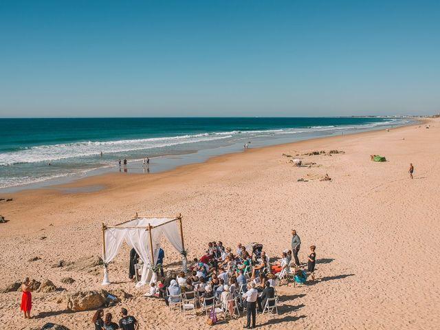 La boda de Nicolás y Marie en Conil De La Frontera, Cádiz 38