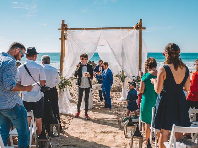 La boda de Nicolás y Marie en Conil De La Frontera, Cádiz 56