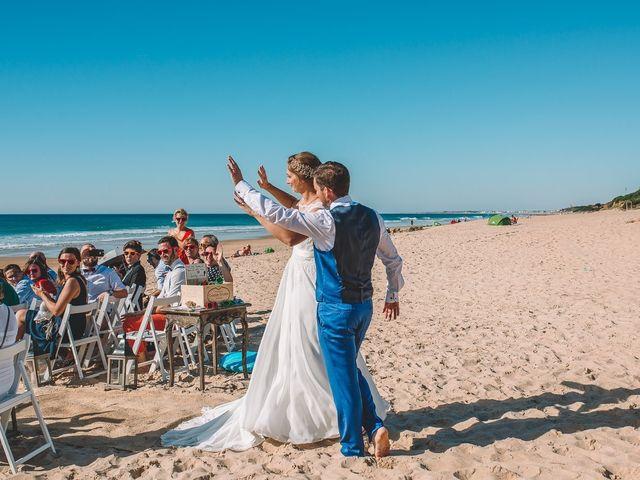 La boda de Nicolás y Marie en Conil De La Frontera, Cádiz 67