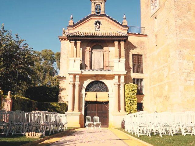 La boda de Víctor y Jessica en Fuentes De Andalucia, Sevilla 2
