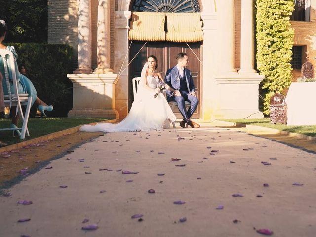 La boda de Víctor y Jessica en Fuentes De Andalucia, Sevilla 10