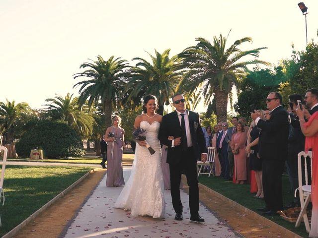 La boda de Víctor y Jessica en Fuentes De Andalucia, Sevilla 12