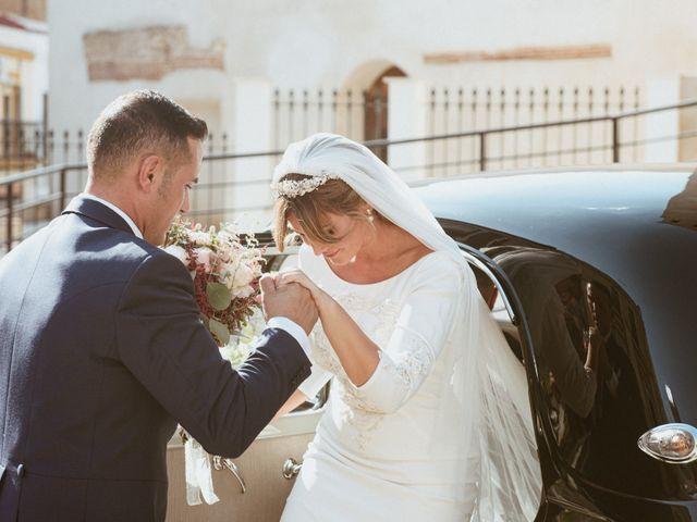 La boda de José Antonio y Salomé en Corte De Peleas, Badajoz 26